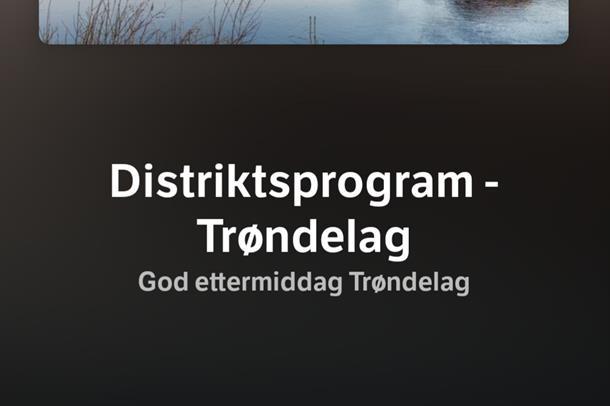 NRK Trøndelag God ettermiddag Trøndelag 17.6.2021