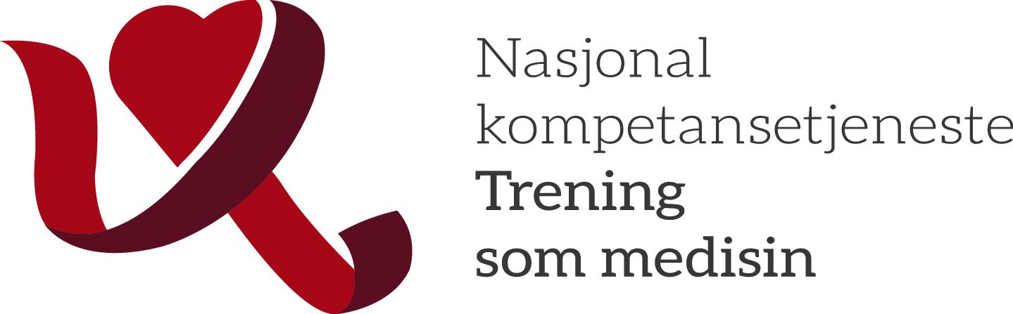 Logo, Nasjonal kompetansetjeneste Trening som medisin
