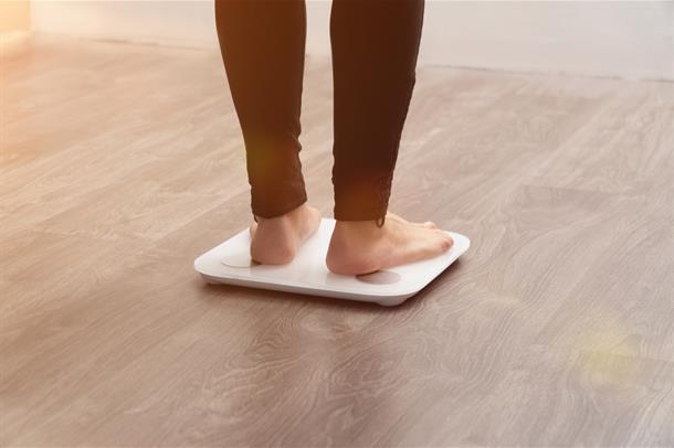 Føtter på vekt