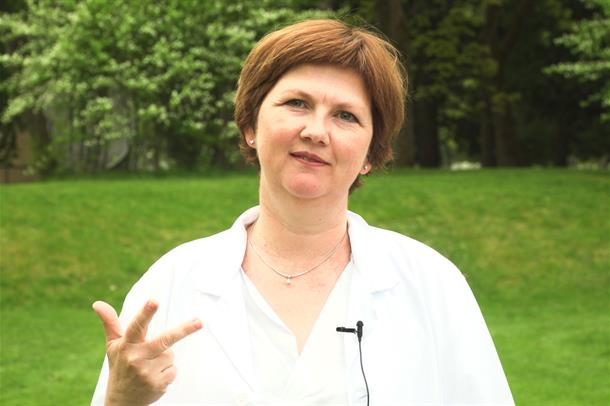 Ellen Marie Bjørge, hudlege ved St. Olavs hospital