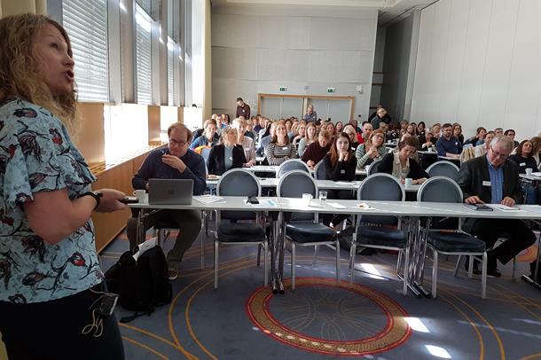 Solveig Klæbo Reitan holder foredrag